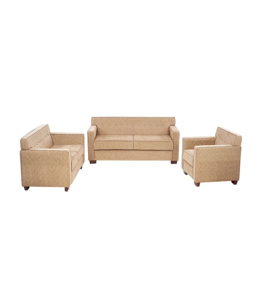 arra indus sofa set 3 2 1 buy arra indus sofa set 3 2 1 online at best prices in india on snapdeal. Black Bedroom Furniture Sets. Home Design Ideas