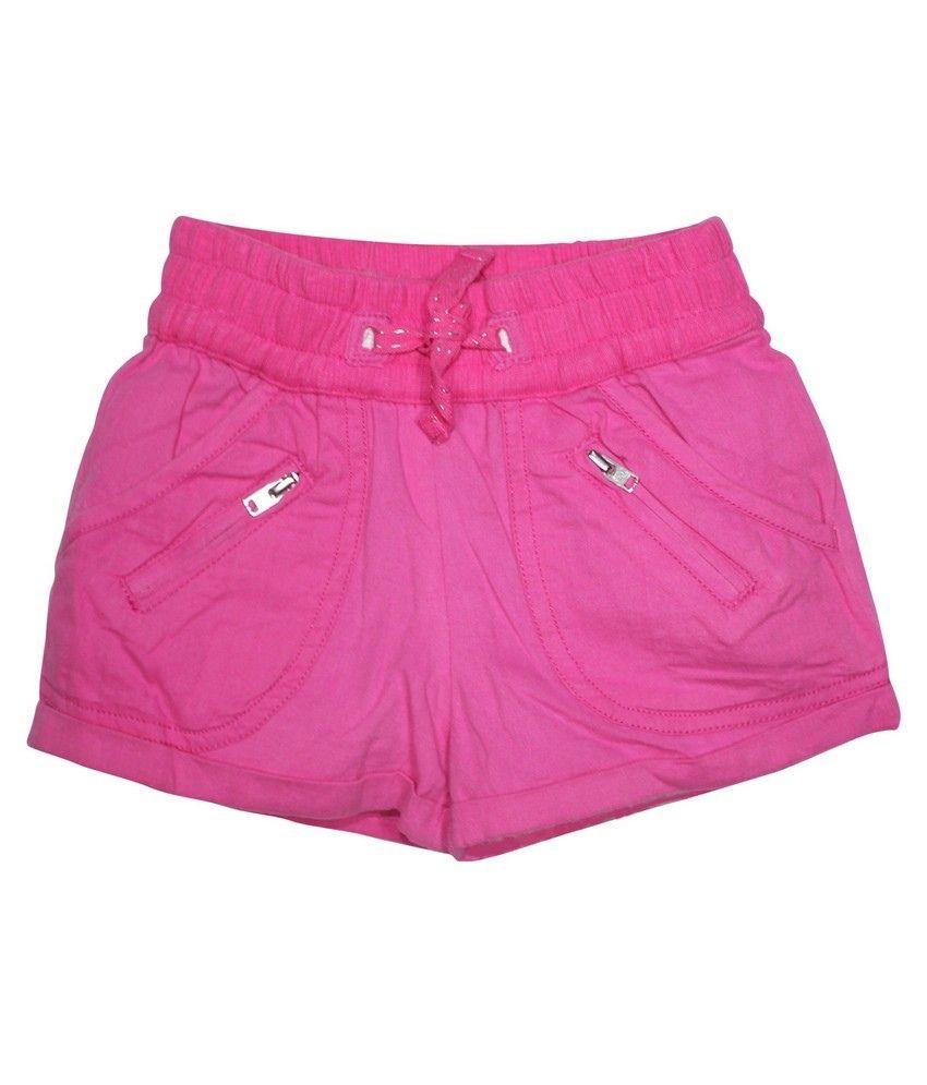 FS Miniklub Cat And  Bunny Girls Woven Shorts