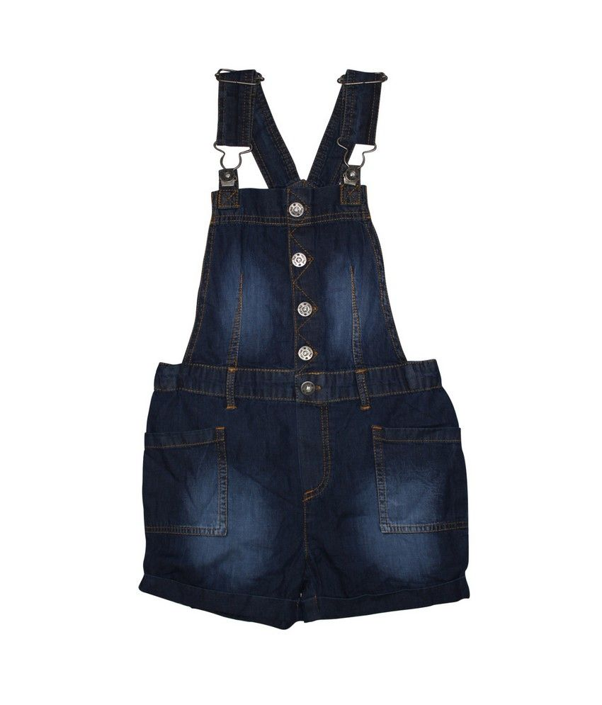 FS Miniklub Core Girls Denim Dungaree