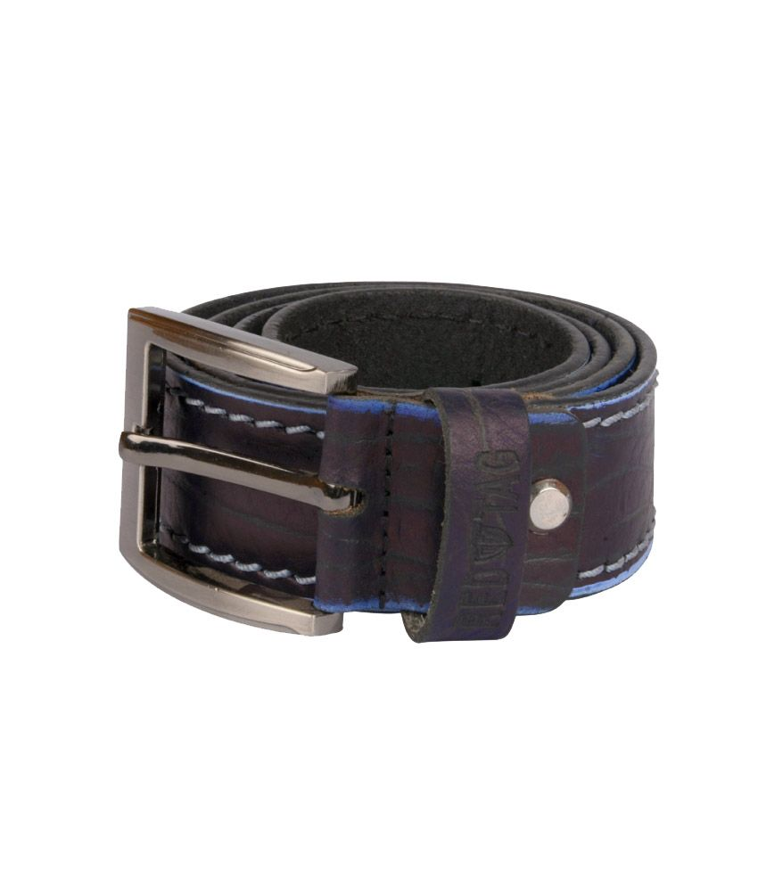 Grasshooper Brown Leather Casual Belt