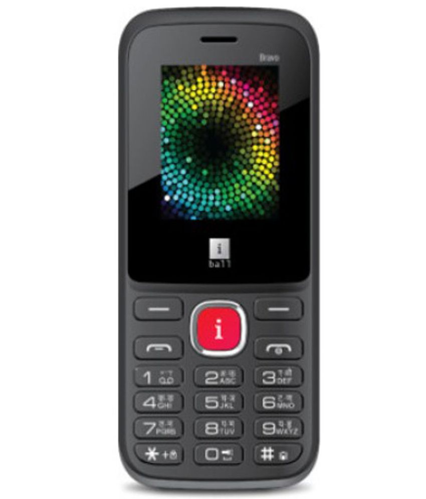 iBall MultiSim Bravo 1.8E Grey & Black