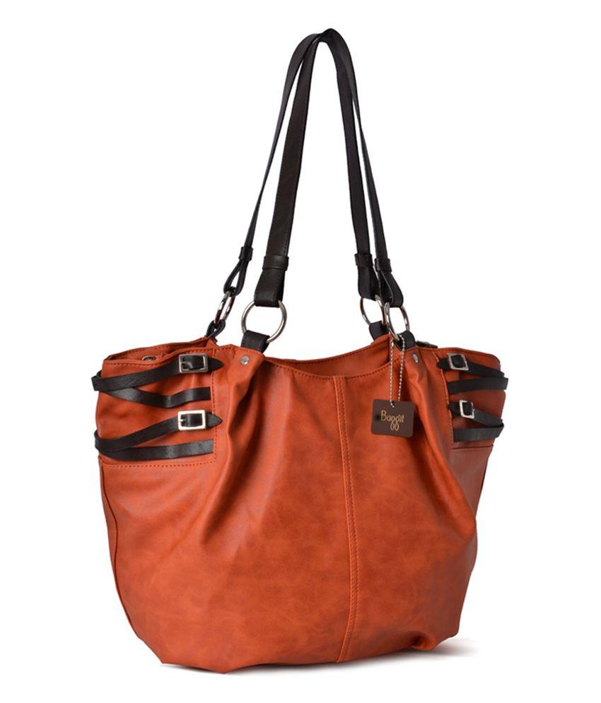 64322f47a Baggit Orange Shoulder Bag - Buy Baggit Orange Shoulder Bag Online at Best  Prices in India