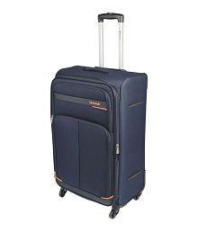 Safari Maasaimara Navy Blue Large 4 Wheel Luggage Trolley