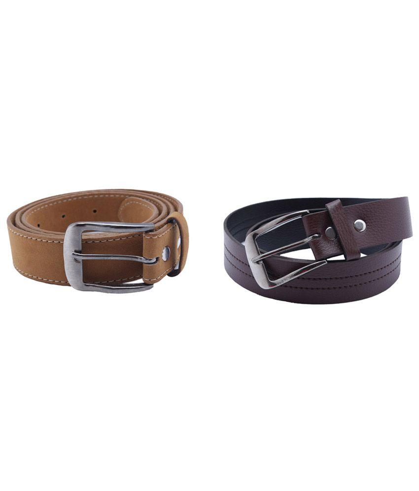 Taboo Dashing Multi Non Leather Pin Buckle Belt