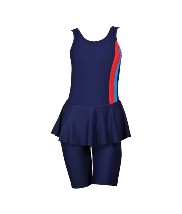 Champ Blue Padded Swimsuit/ Swimming Costume