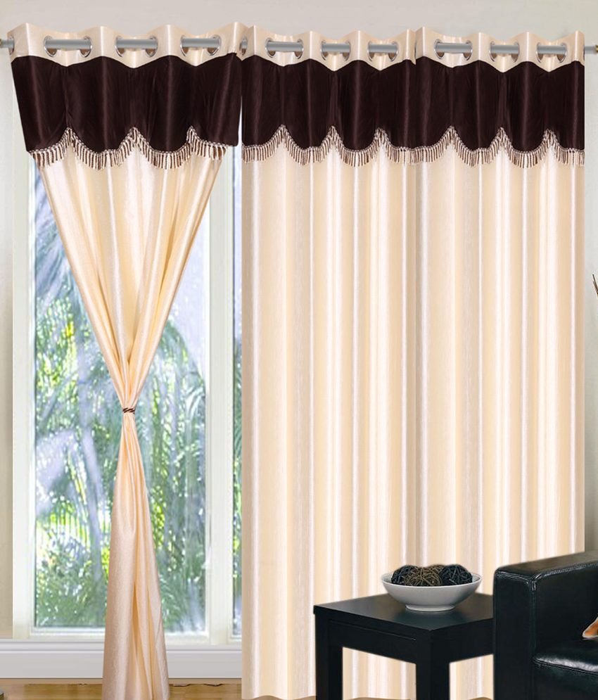 pole p set curtain swag valance style chenille flip draperies green picture