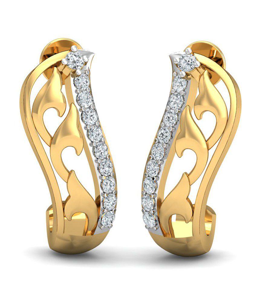 Kamakhya Jewels Superb Diamond J Shaped Bali
