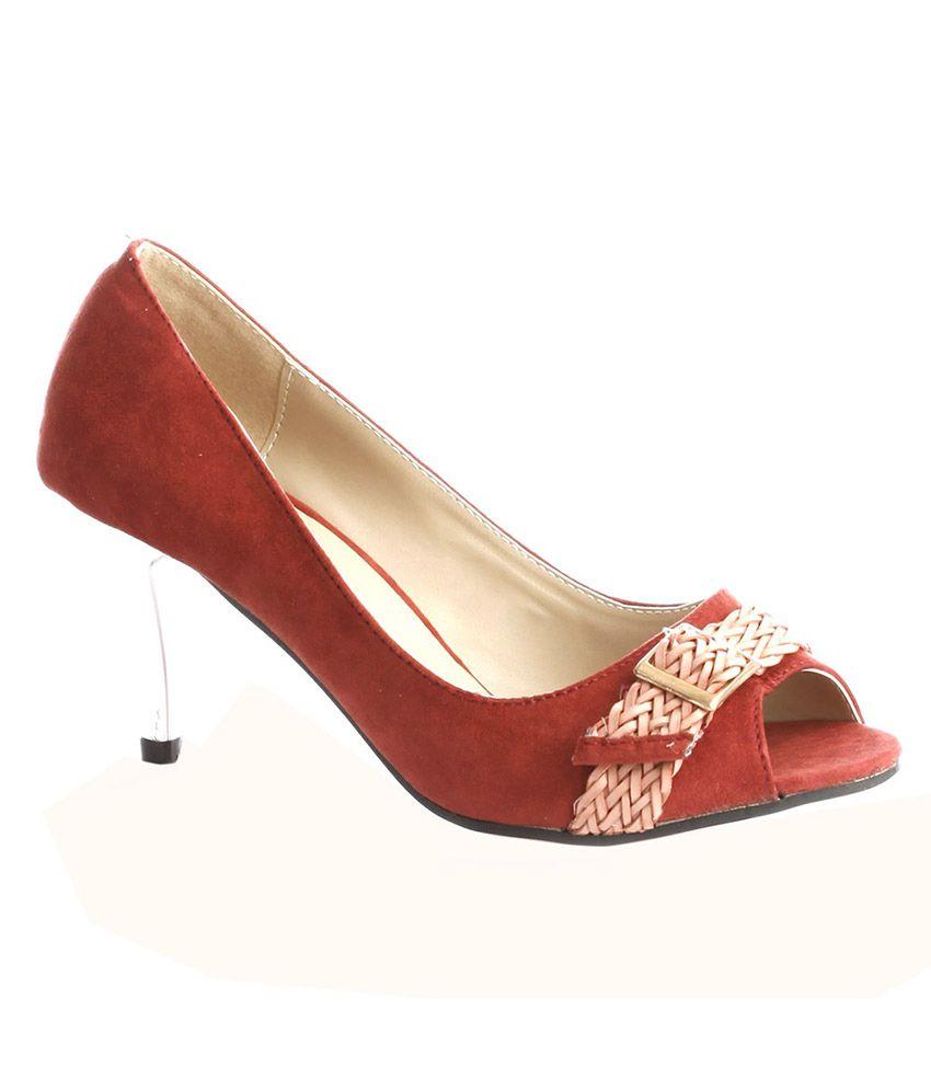 Vero Couture Red Stiletto Pumps