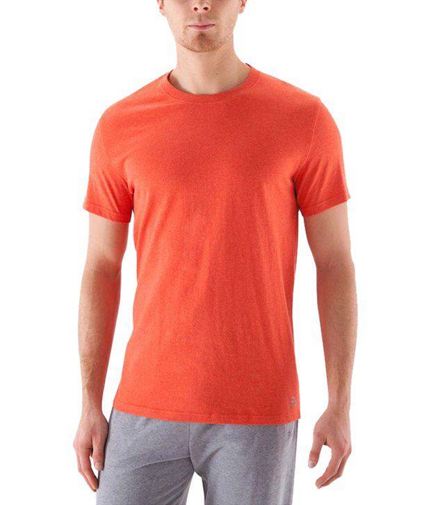 Domyos Orange Sports T Shirt for Men