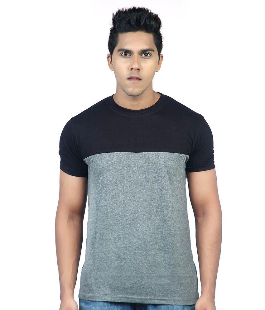 Krook Black-charcol T Shirt