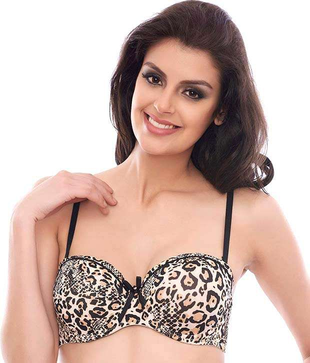 96a52ec650 Buy Penny Animal Print Padded Bra Online at Best Prices in India - Snapdeal