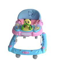 Baby Mix Baby Walker BW10 - Blue with Pink