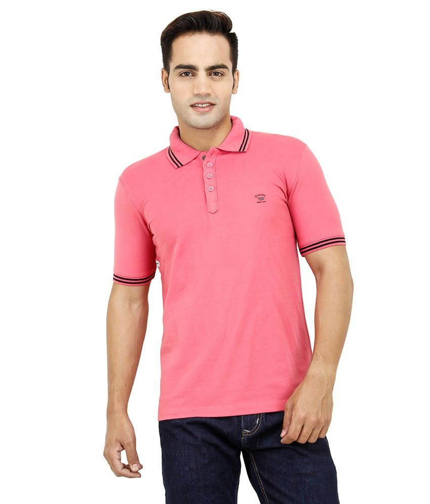 92c07bda Diesel T-Shirt Pink Cotton Polo T-shirts - Buy Diesel T-Shirt Pink Cotton Polo  T-shirts Online at Low Price - Snapdeal.com
