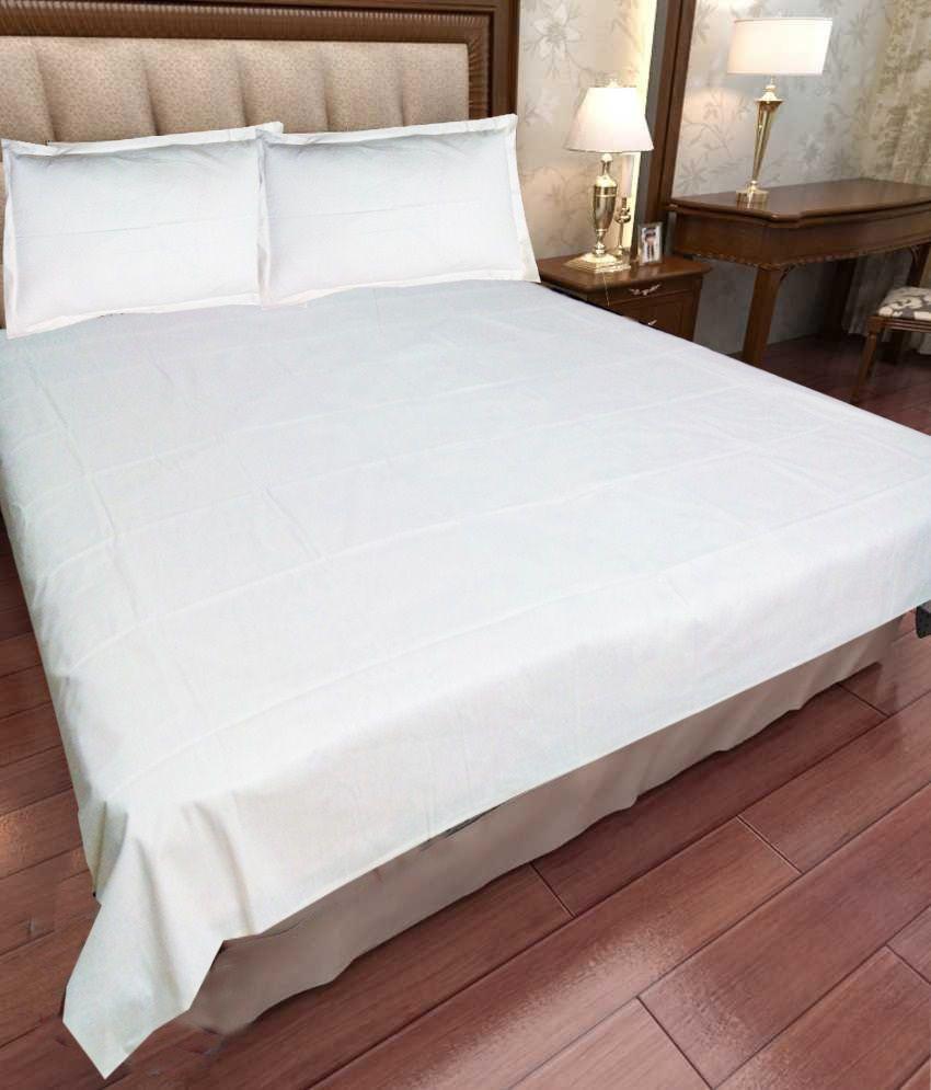 Plain Double Bed Sheets