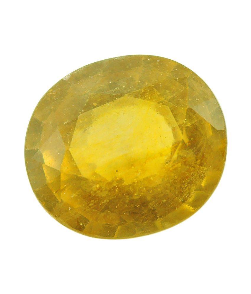 gemstones rashiratan yellow faceted sapphire buy