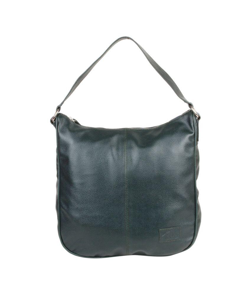 Thia Green Handbag For Women
