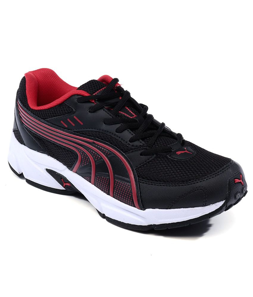 Puma Pluto DP Black Running Shoes Art SP188446052 ...