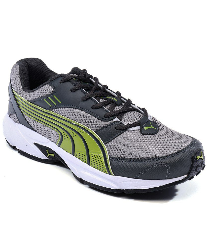 Puma Pluto DP Gray Running Shoes