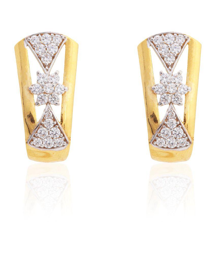 Asure Precious Metal Private Limited Iris Gold Earrings
