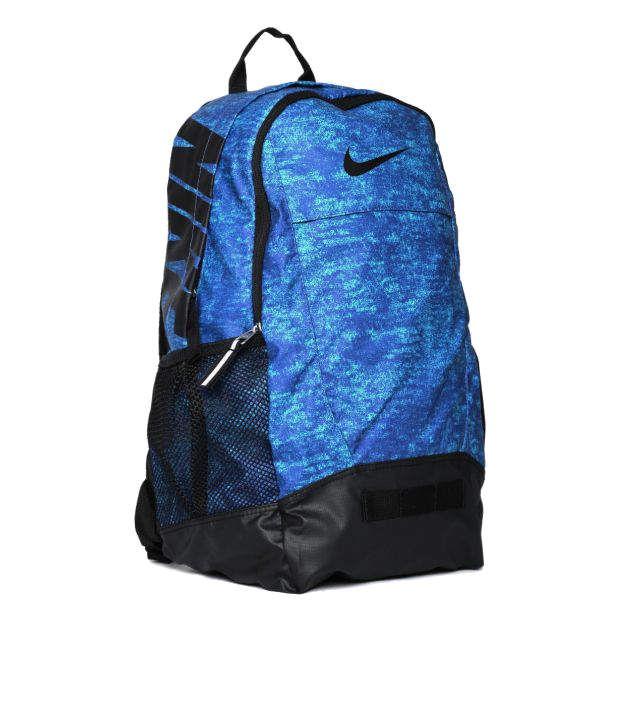 Nike Classic Sand Backpack Blue and Black Backpack - Buy Nike ... 851d4cb9ccfe4