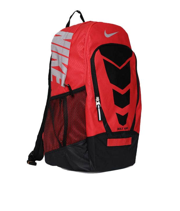 48dea8602477 Nike Max Air Vapor BP Large Backpack Red and Black Backpack - Buy ...