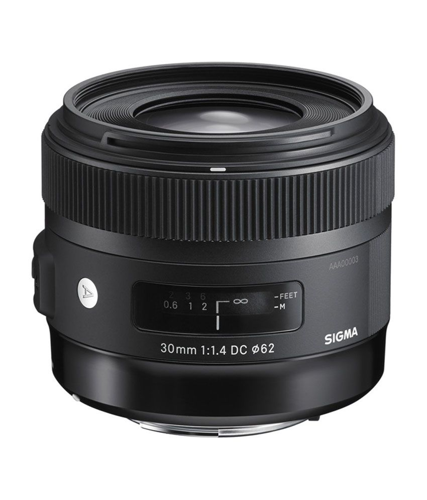Sigma 30mm F/1.4 EX DC HSM Art lens for Nikon Cameras
