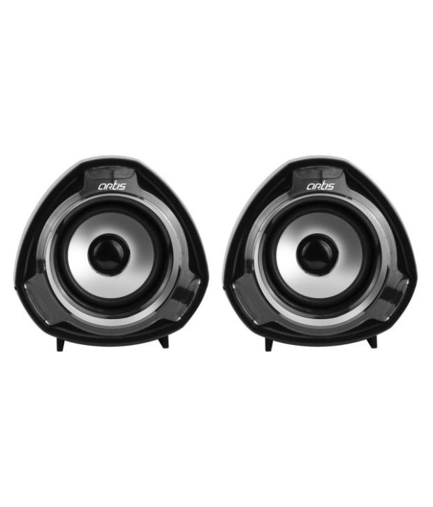 Artis Usb Speakers 2 Computer Speakers Black