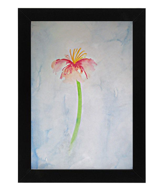 D.B.A The Bud Painting with Frame