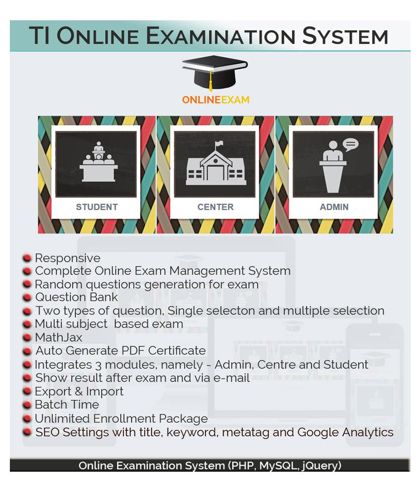 Certified TI - Online Examination System Developed in PHP and MySQL