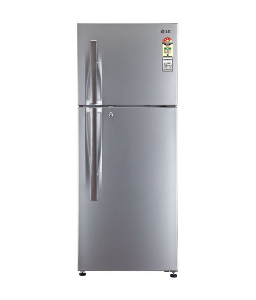 LG 258 LTR 3 Star GL-M292RPZL Double Door Refrigerator - Shiny steel
