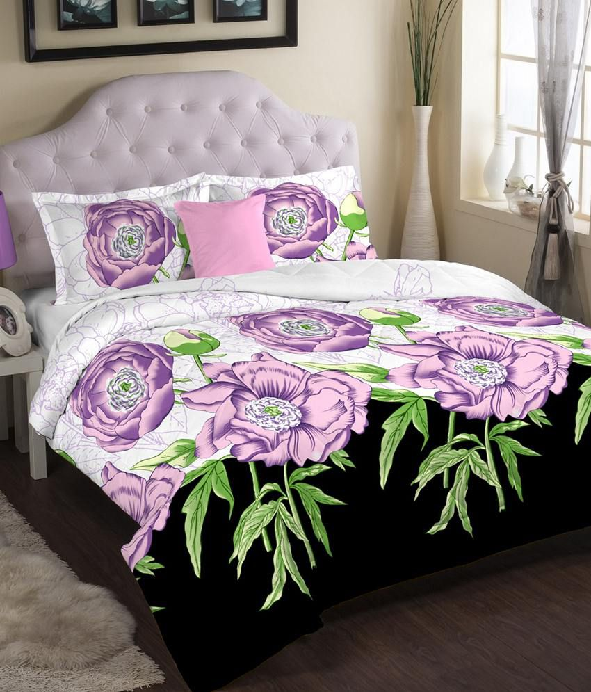 Portico New York Eldora Super King Bed Sheet 2 Pillow Covers