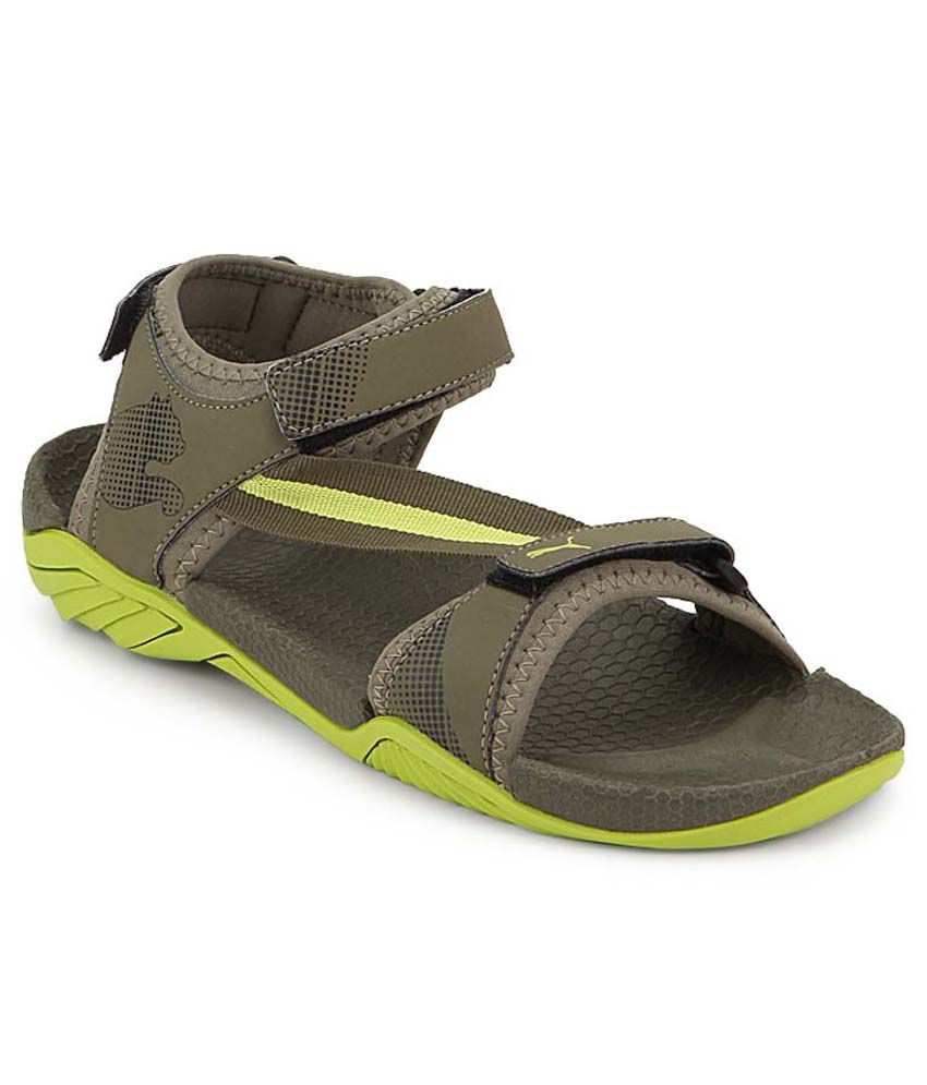 6e981196ee8a Puma Green Floater Sandals - Buy Puma Green Floater Sandals Online at Best  Prices in India on Snapdeal