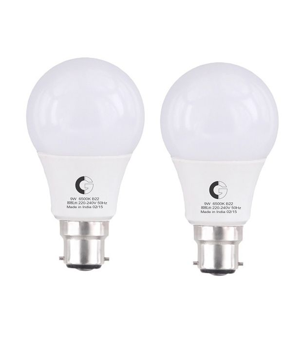 d9bdf42a3 Crompton Greaves 9W Pack of 2 LED Bulb  Buy Crompton Greaves 9W Pack of 2 LED  Bulb at Best Price in India on Snapdeal