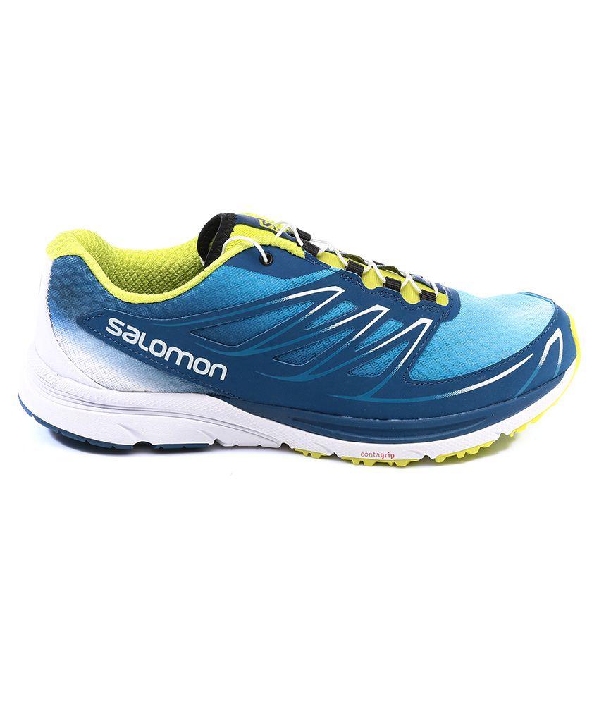 cozy fresh e6a61 f845c Salomon Sense Mantra 3 Blue Sport Shoes - Buy Salomon Sense ...