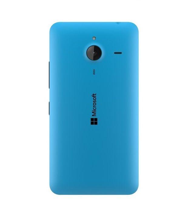 purchase cheap e1ad3 3aa39 Microsoft Lumia 640xl Original Back Panel Cyan