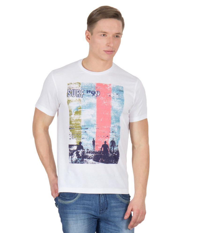 Wilkins & Tuscany 11682 Stylish White T-shirt