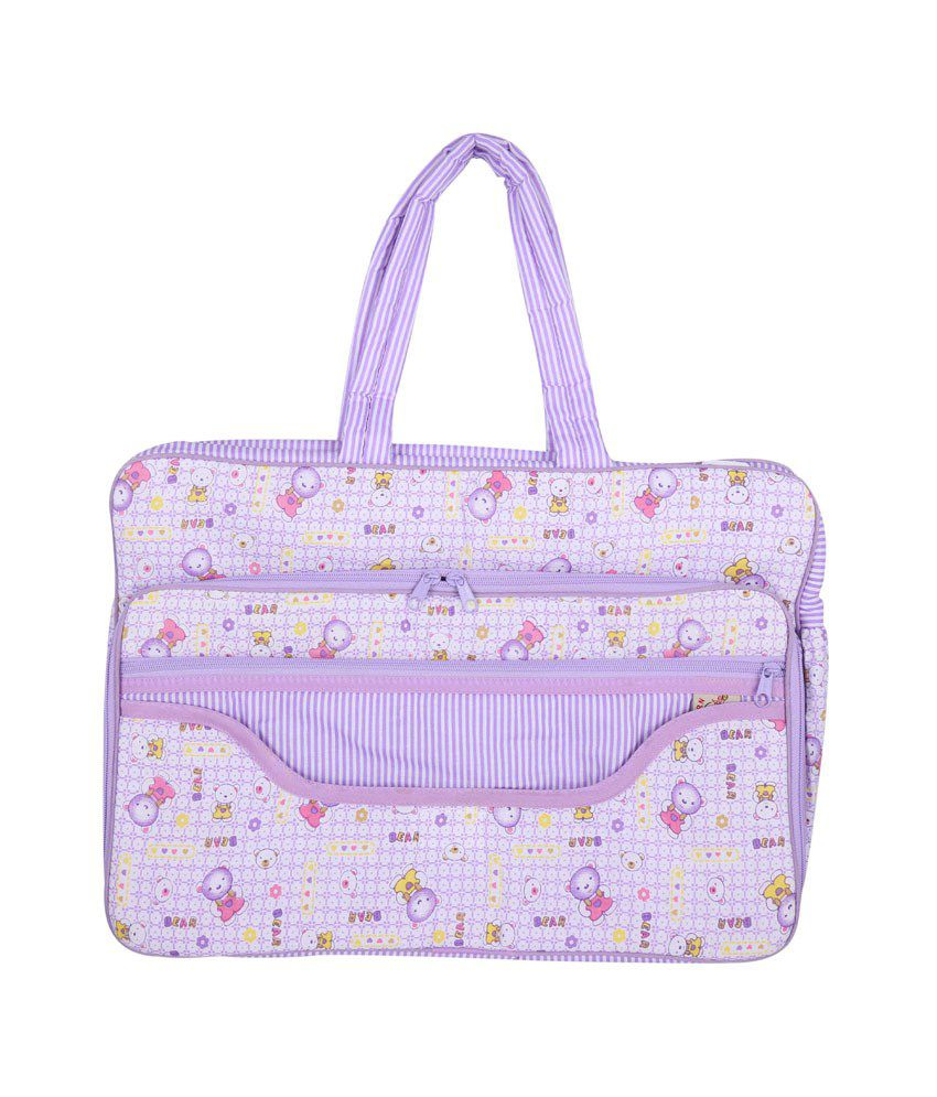 Born Baby Purple Little Mama Born Baby Bag