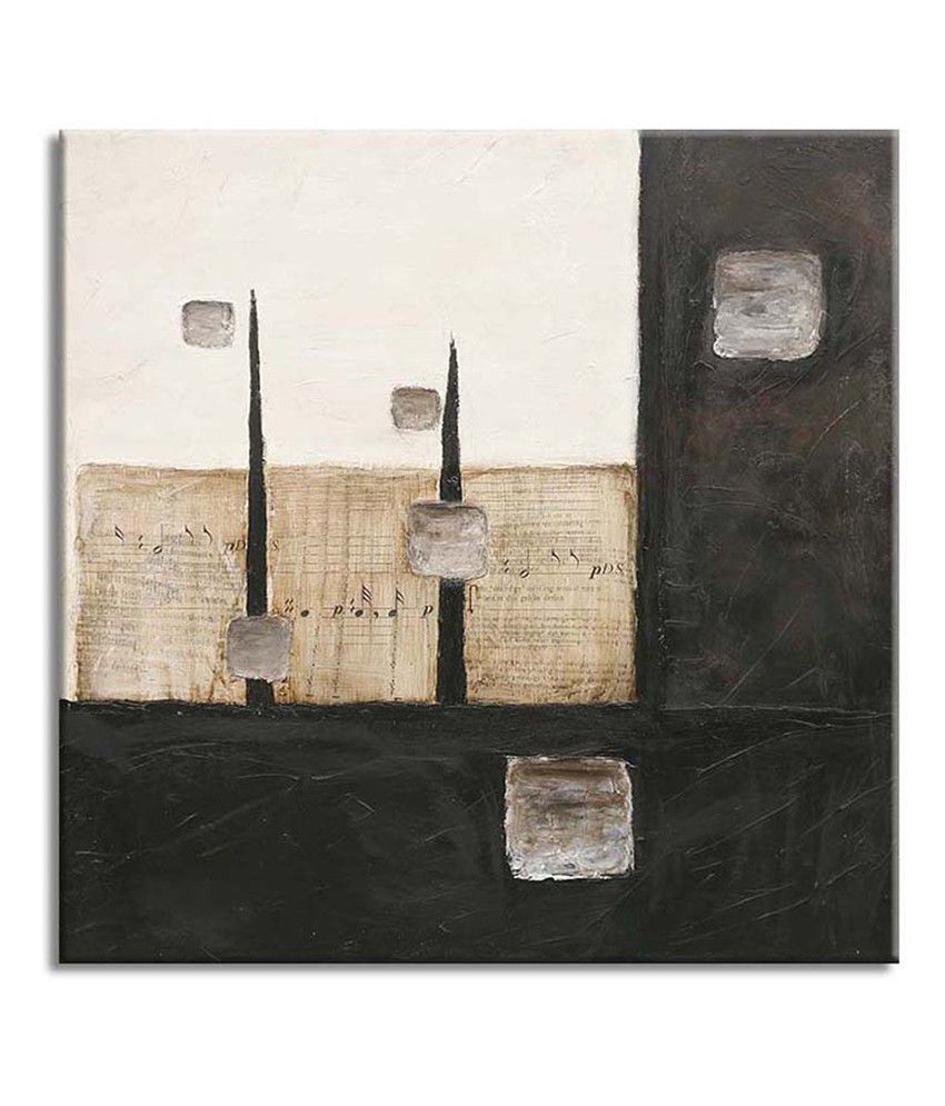 Painting Mantra Abstract square Painting Canvas Print Wall Hanging