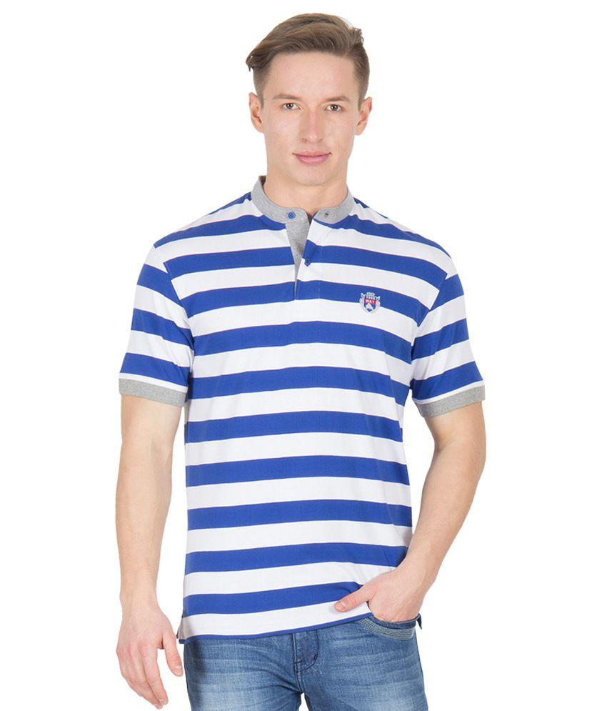 Wilkins & Tuscany 11617 Stylish Royal Blue T-shirt
