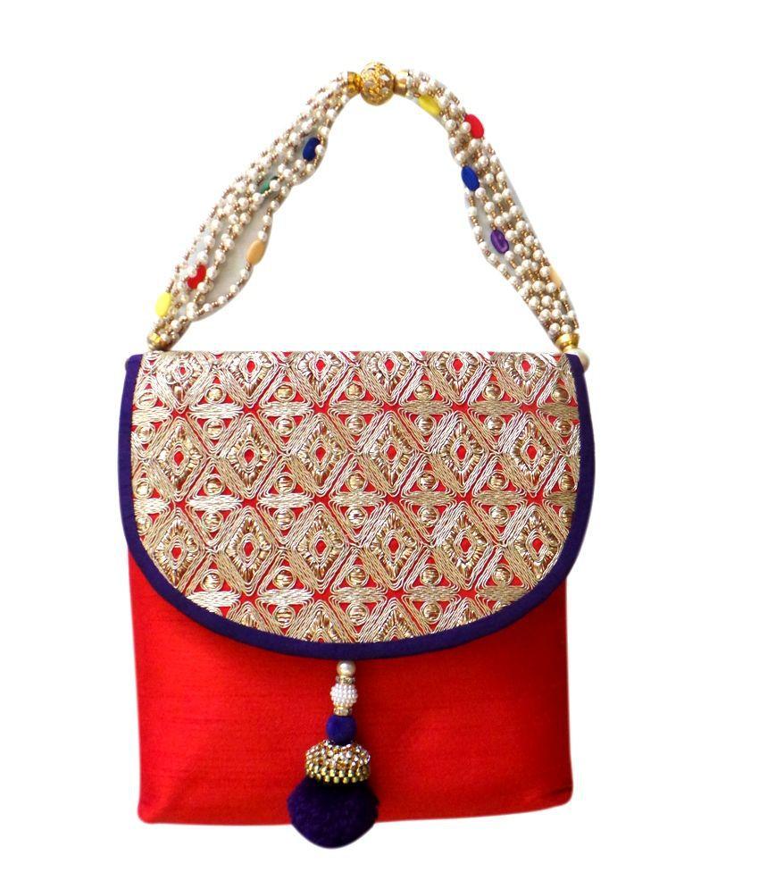 Bhamini Red Women Handbag