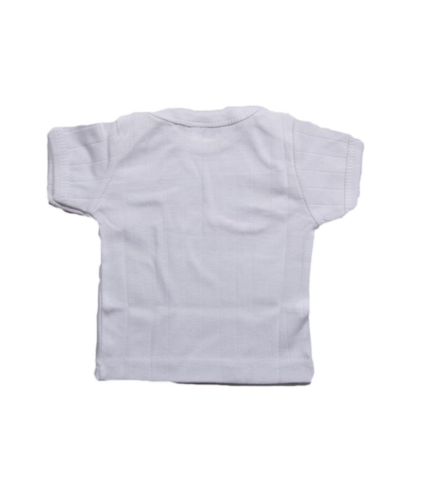 Cucumber white cotton graphic and patch work half sleeves for White cotton work shirts