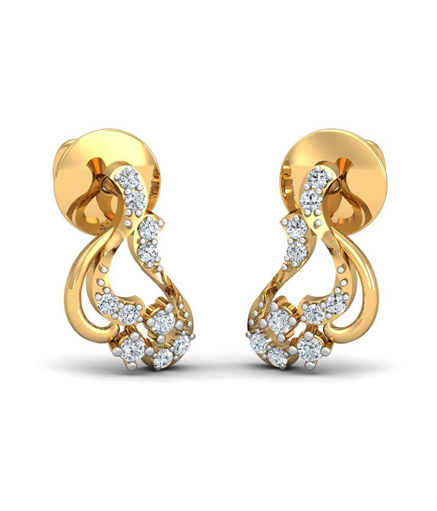 Oyea Forever New 18Kt Diamond Earing