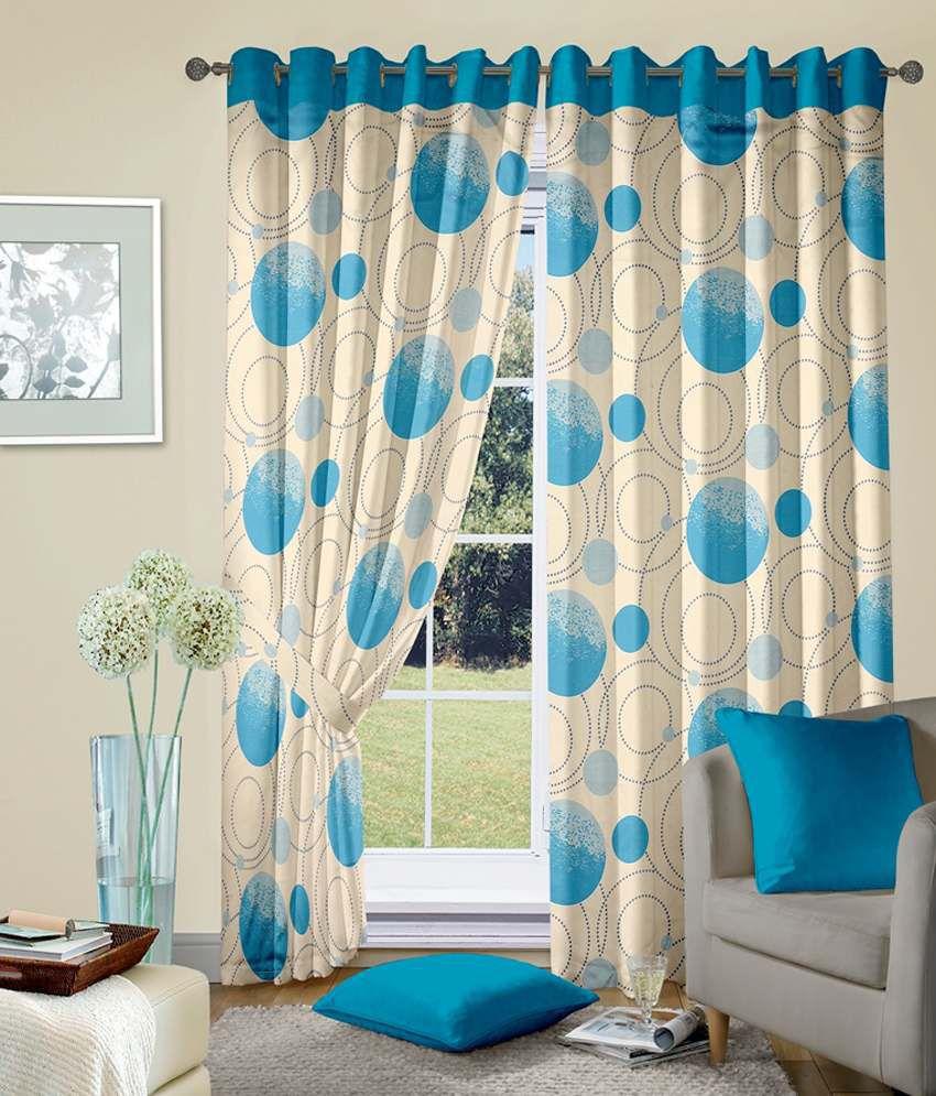 cortina single long door blackout eyelet curtain. Black Bedroom Furniture Sets. Home Design Ideas