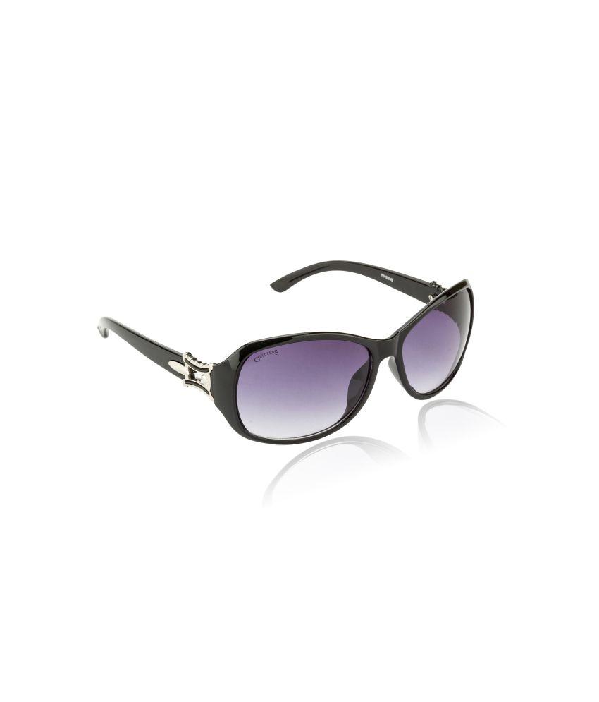 Glitters Black Women Sunglasses
