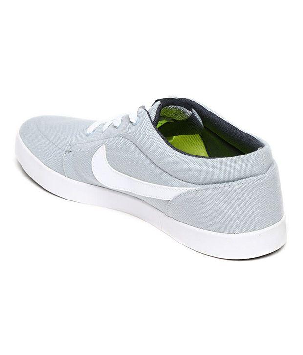 Nike Gray Canvas Shoes - Buy Nike Gray