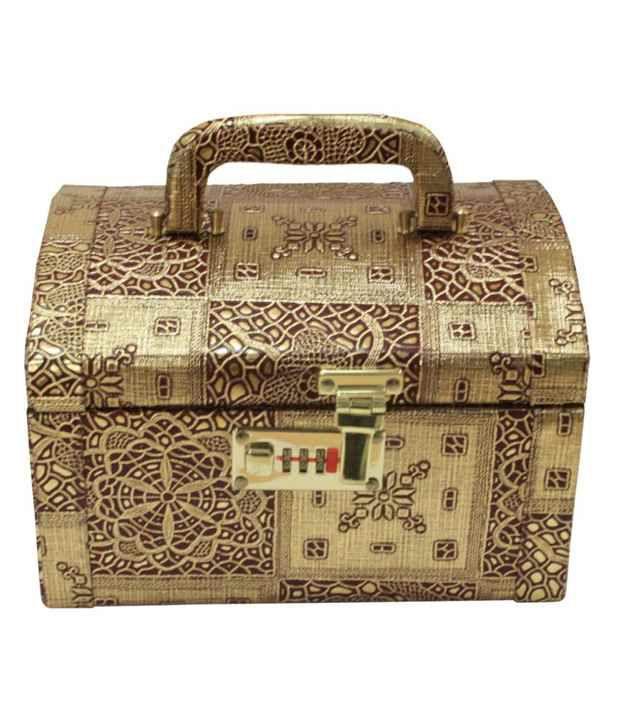 Bags Unlimited Golden Vanity Box