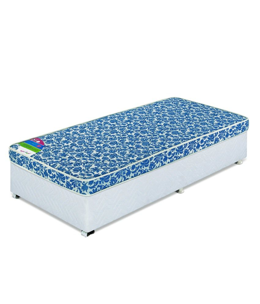 godrej interio queen size orthomatic regular foam mattress 78x60x4