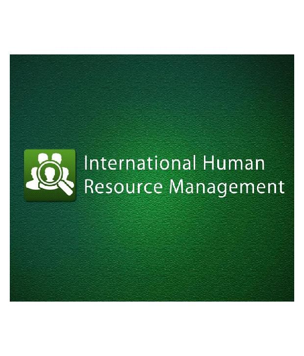 International Human Resource Management Certified Online