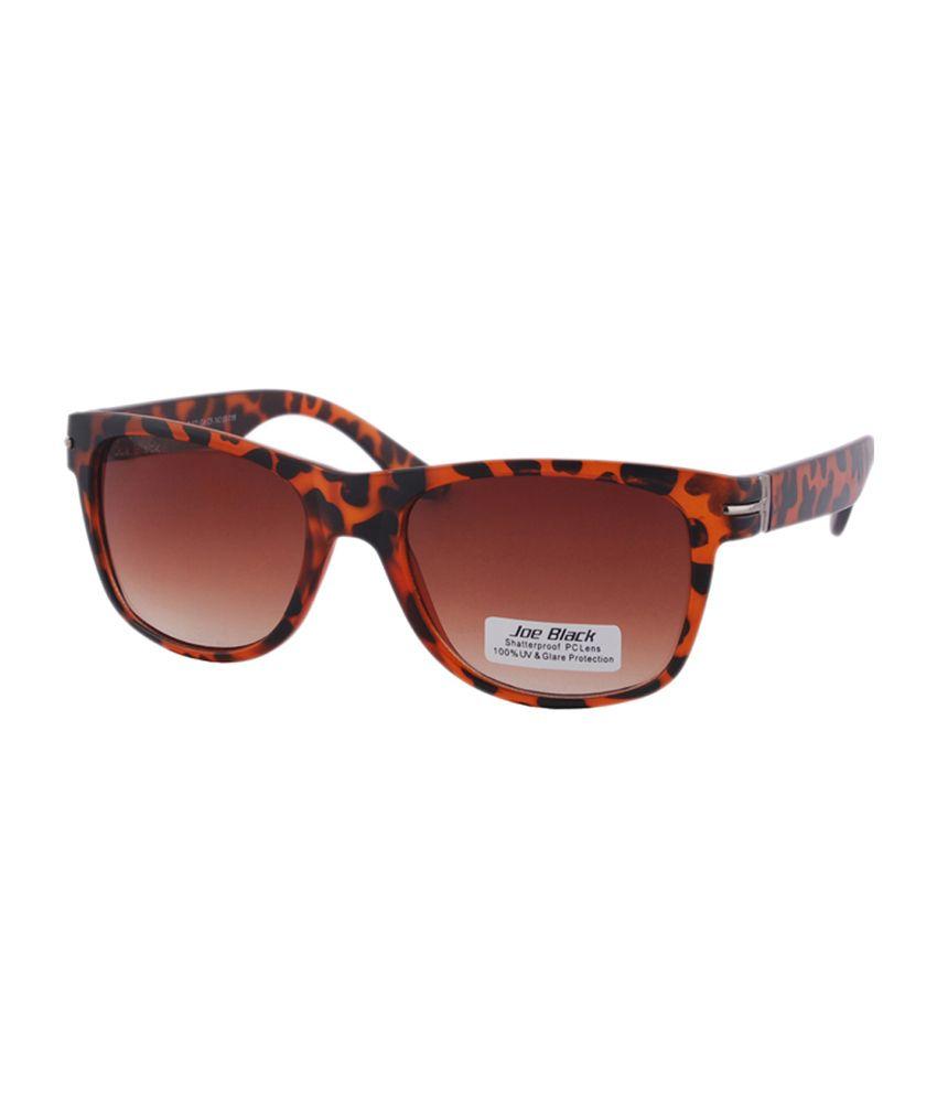 Joe Black - Brown Square Sunglasses ( jb-623-c5 )
