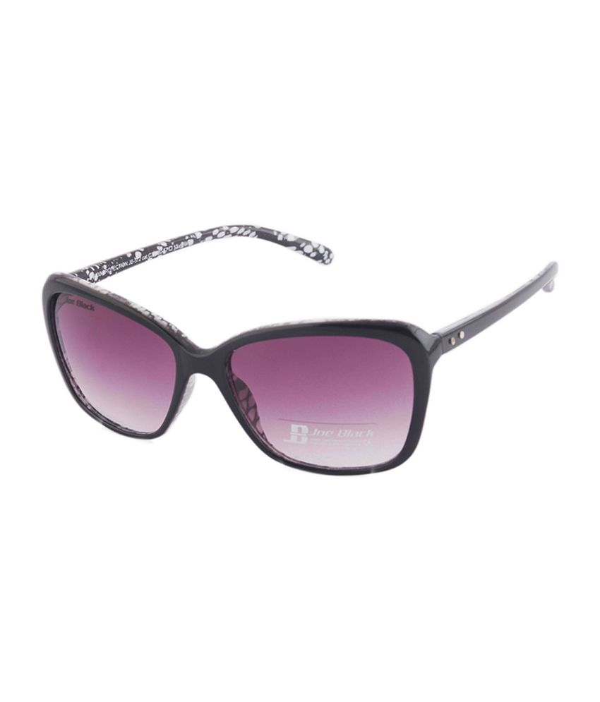 Joe Black Purple Rectangle Sunglasses (JB-572-C3)